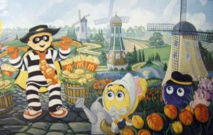 Hamburgler and Fry Guys by HouseofChabrier