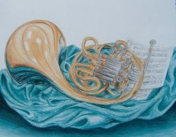 French Horn by TalentedTiger