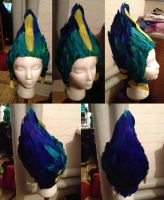 Toothiana headpiece in progress by Aabenhuus
