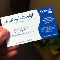 My Business Card by HandCraftedCards