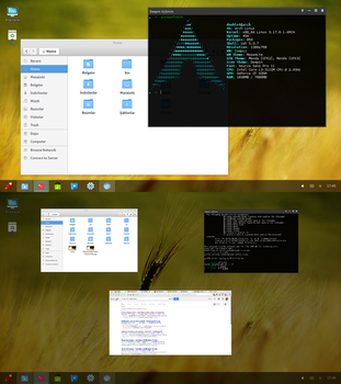 Deepin DE on Arch by TaylanTatli