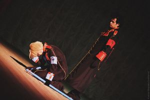 Tsubasa: Reservoir Chronicle - Kurogane and Fai 4 by facja