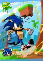 Sonic by Luislo