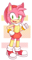 Amy Redesign by nakklesart