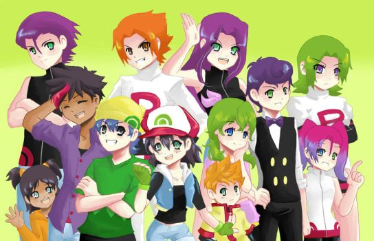 PKMN25YL Group Pic by maimai97
