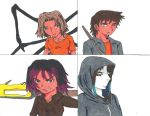 Percy Jackson OC's- My Demigod Four by Bluexorcist93