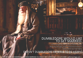 Dumbledore and Marriage, V. 1 by EchoTheDeath