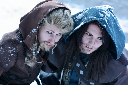 Kili and Fili Cosplay by XMenouX