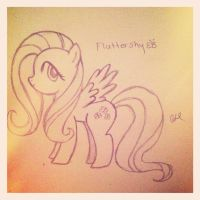 Fluttershy by candiparadise
