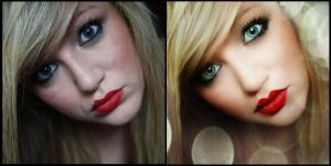 red lips -before and after- by juju-juju-1