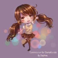chibi commission : erika by tandolcedeco