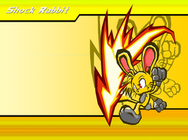 Shock Rabbit Wallpaper by ShockRabbit