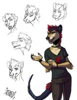 Rita doodle page by Inkfang