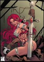 Red Sonja by MarcelloBuzon