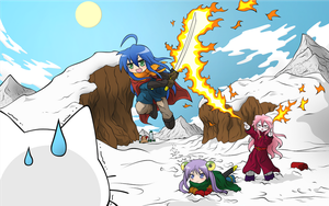 Lucky Star - Chrono Trigger Crossover by SymbianL
