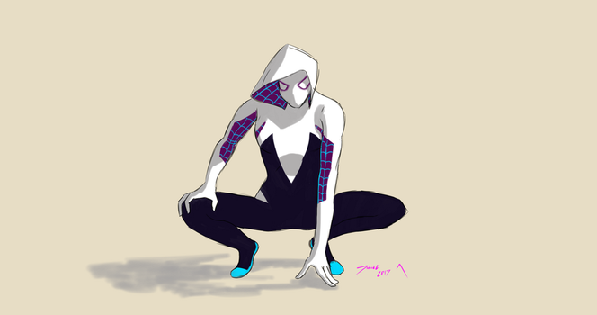 Day 292-SpiderGwen by Dan21Almeida95
