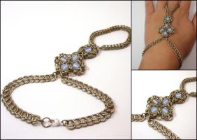 Ilmare - Romanov chainmaille handflower by MermaidsTreasury
