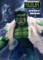 Lou Ferrigno Custom Hulk figure by Simon-Williams-Art