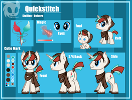 Quickstitch Reference Sheet by Wicklesmack