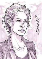 TWD Carol Peletier ACEO by micQuestion