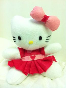 Hello Kitty Plushie by doratee