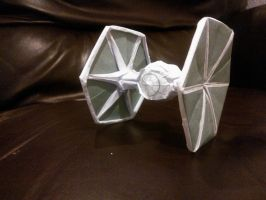 Prototype Decaled TIE FIghter by taerkitty