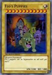 Flo's Puppies Yu-Gi-Oh Card by Amphitrite7