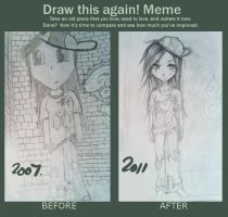 Draw this again meme by Cayys