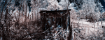Infrared Shack Pano by blackismyheart90