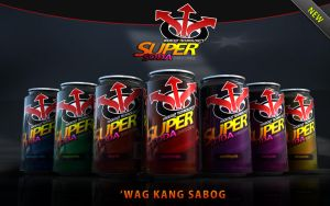 theSuperSoda Energy Drink team by xrecent