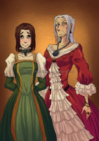 Have some Amnesia genderbend by itami-salami