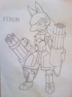 Ferun, Sweeper Lucario by MikeGTS