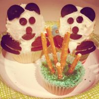 Panda Cupcakes!! by HoboIncorporated