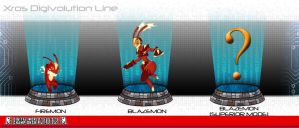 Firemon xross evolution chart by Grooth
