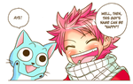 Natsu and the dragon egg by BRITKN33