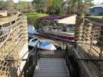 Roped Area by Stairs to Marina by WDWParksGal-Stock