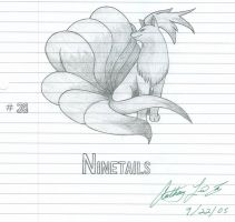 Ninetails by bfsnorlax
