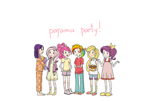pajama_party! by InvincibleChimiPie