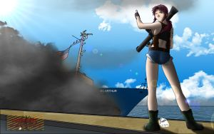 Revy Versus BlackWater by Panzerfire