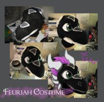 Feuriah Commission Progress 2 by DragonCid