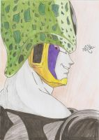My Perfect Cell drawing by SeruHiKaMi