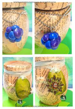 Blueberries and pendants? by SuzyQ2pie