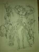 AVENGERS COMMISSION - WORK IN PROGRESS by IMPOSI