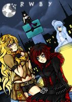 Rwby Poster by 21as