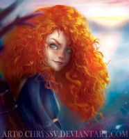 Merida by chryssv
