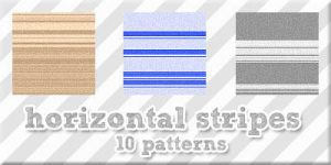 Horizontal stripes by Sweet83