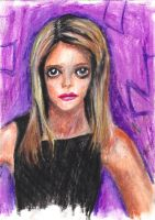 Cartoonish Buffy by withanh