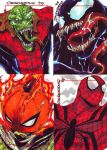 spiderman card set by denart