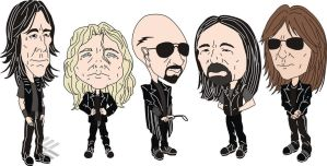 Judas Priest by wakwham