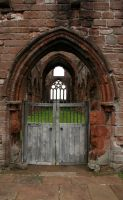 Sweetheart Abbey 1 by GothicBohemianStock
